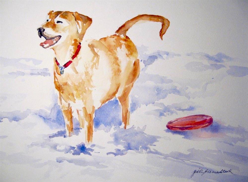 """Good Dog"" original fine art by Judith Freeman Clark"
