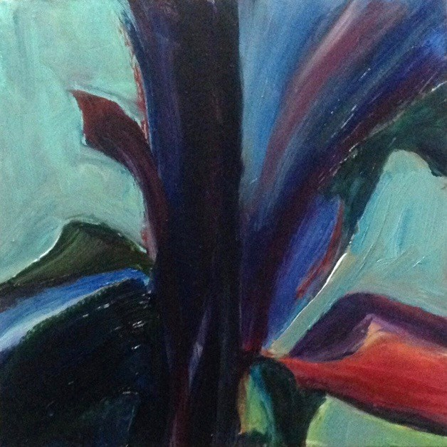 """Richly Planted"" original fine art by Judy Usavage"