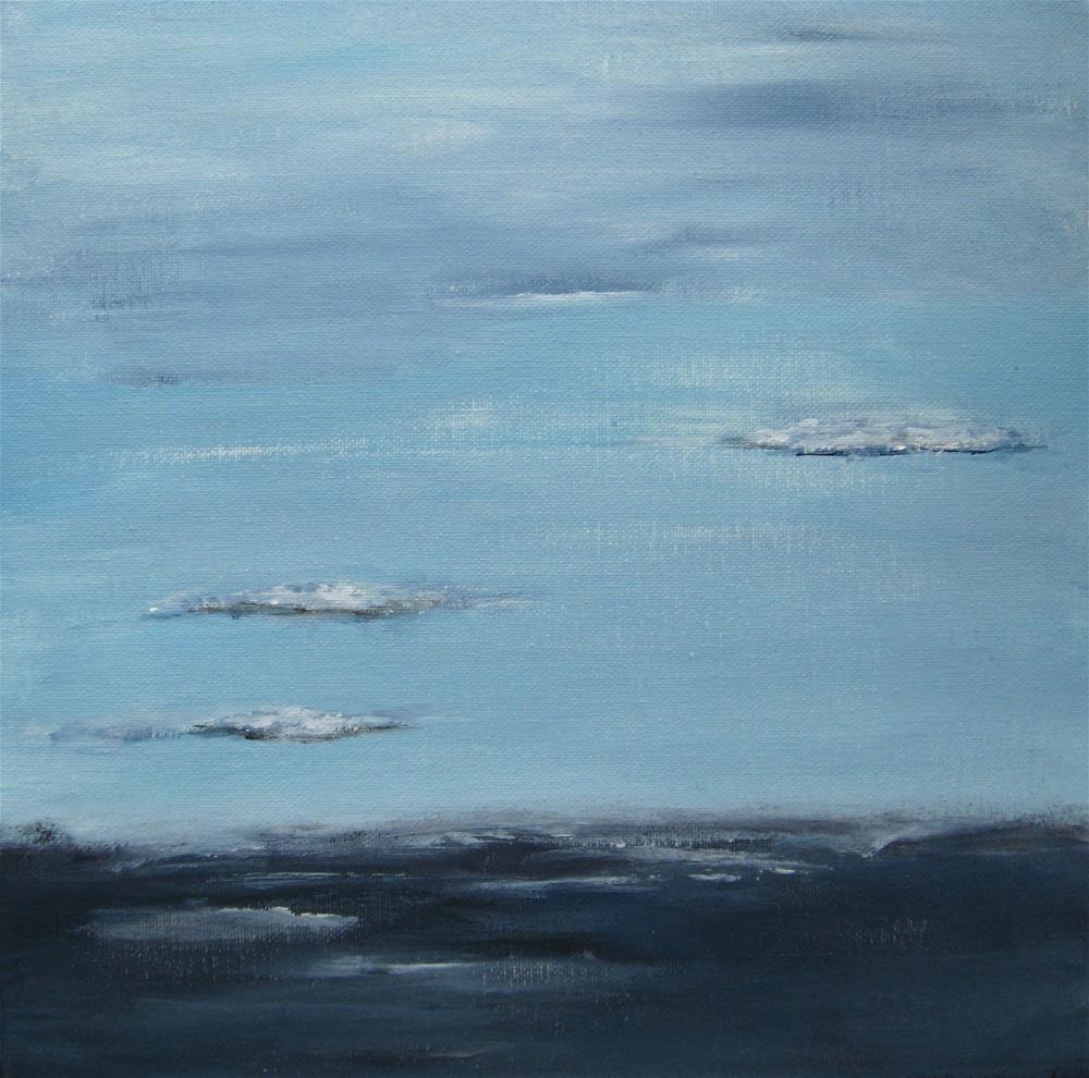 """Winter In April"" original fine art by Alina Frent"