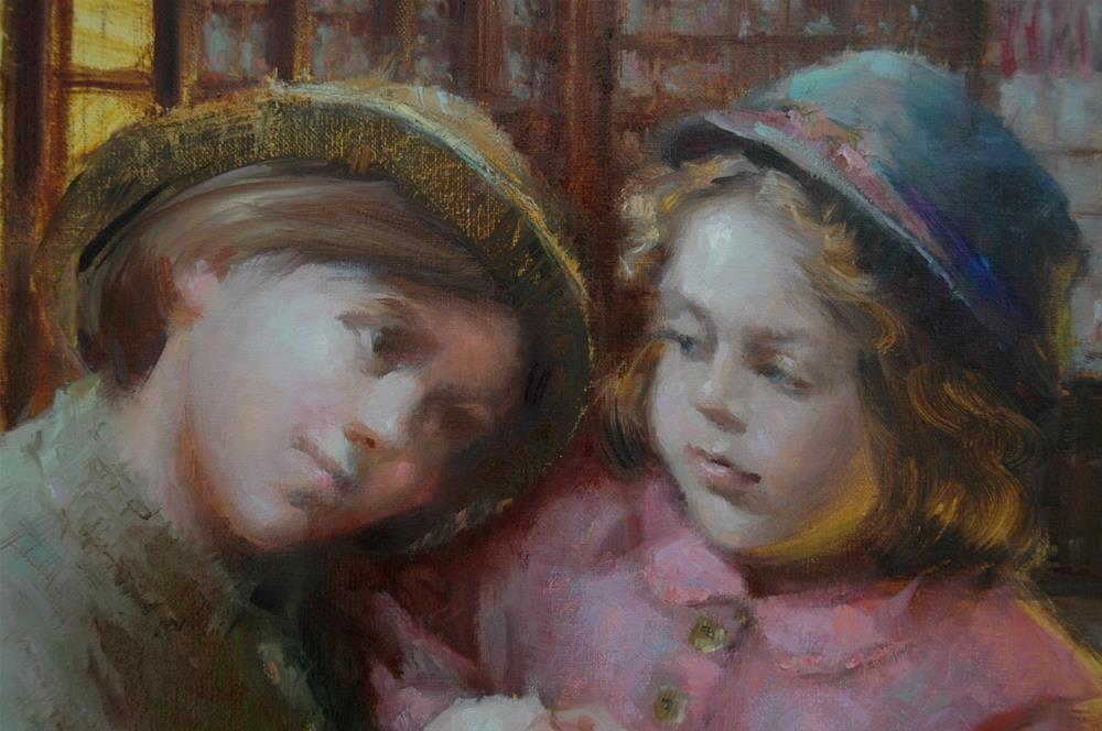 """Sisterhood"" original fine art by Johanna Spinks"