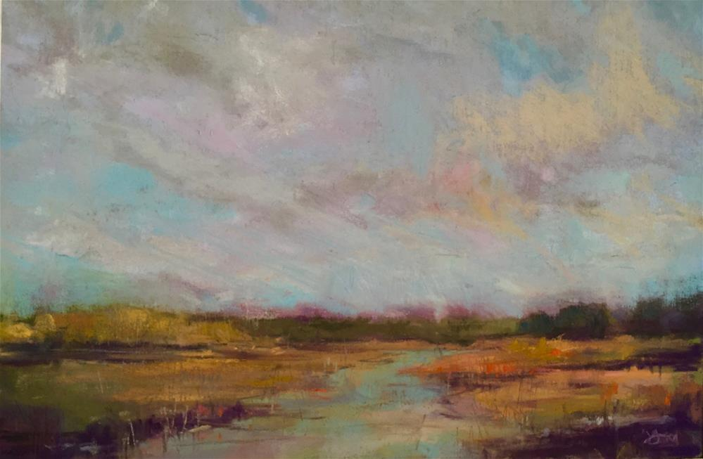 """Fall Skies"" original fine art by jeri greenberg"