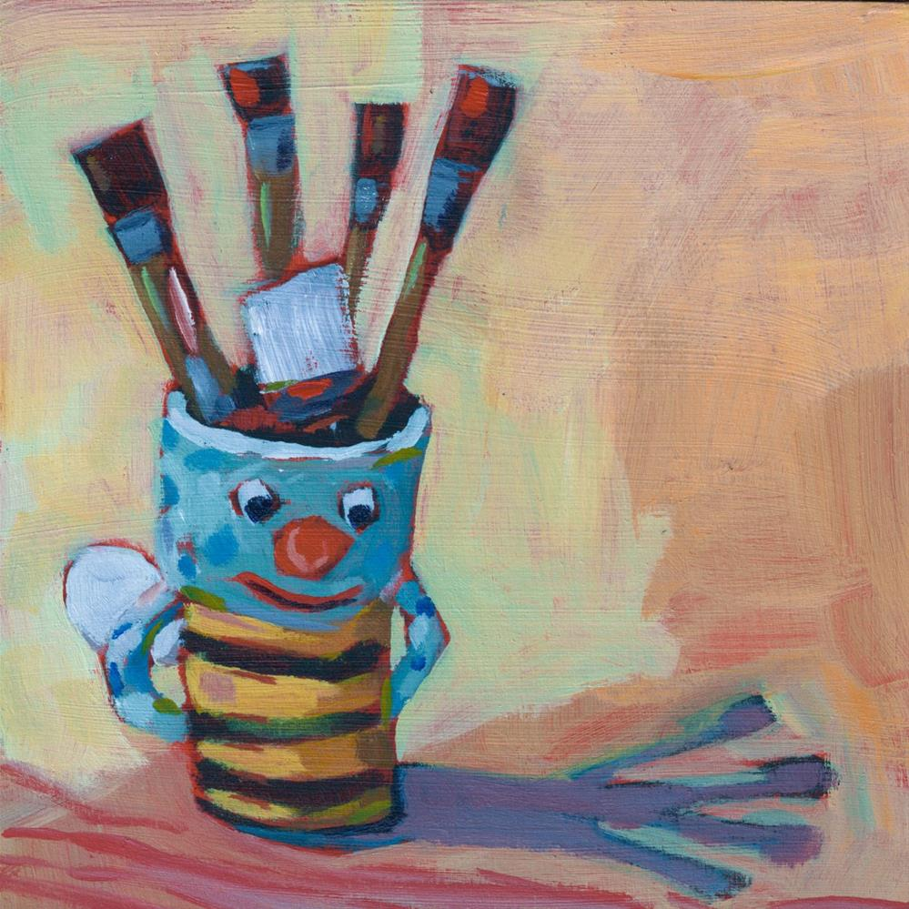 """Bee Creative (#413)"" original fine art by Brian Miller"