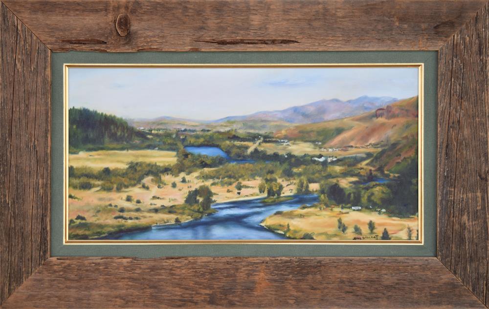 """""""What A Dam Site"""" original fine art by Lori Brackett"""