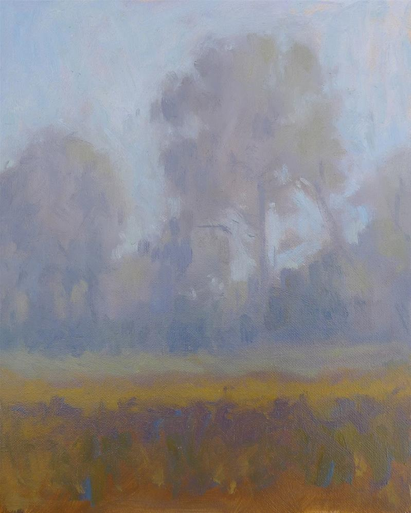 """Morning Mist"" original fine art by Adam Houston"