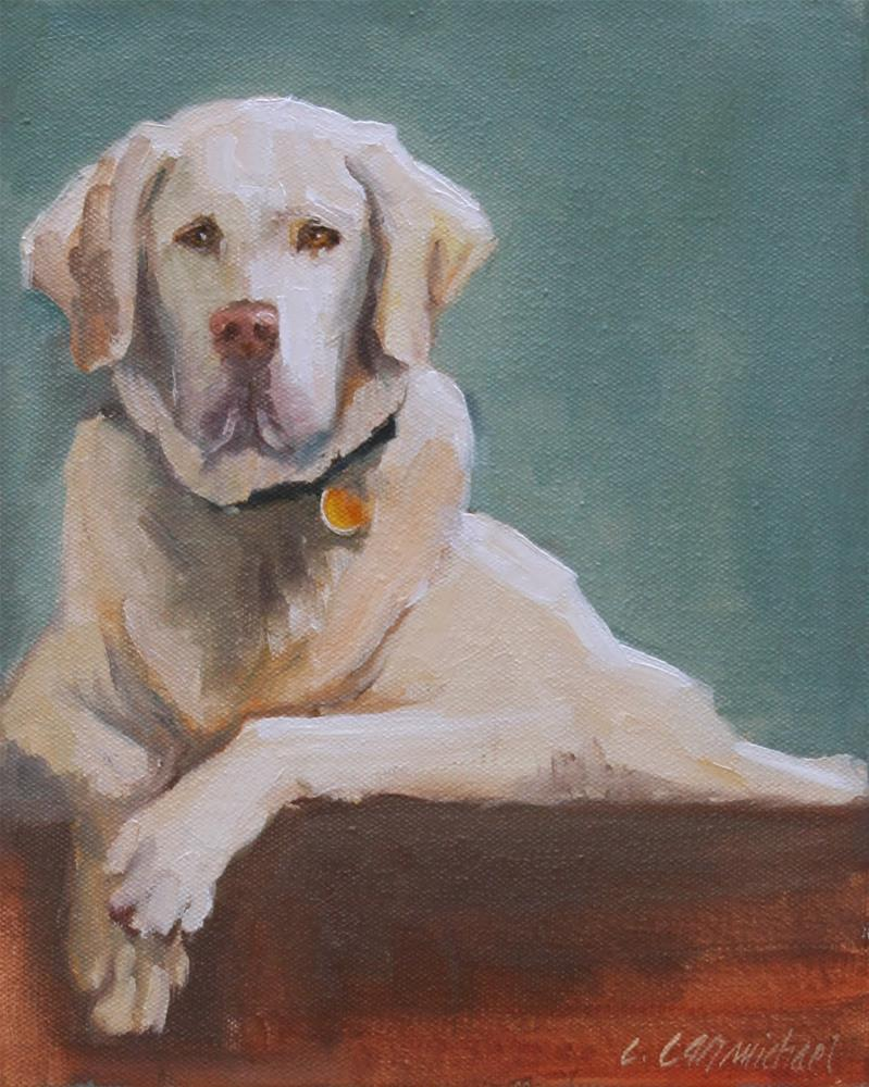 """vanilla"" original fine art by Carol Carmichael"