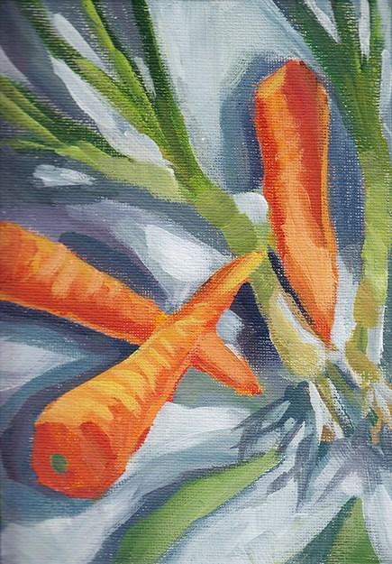 """Colour of a Crush"" original fine art by J M Needham"