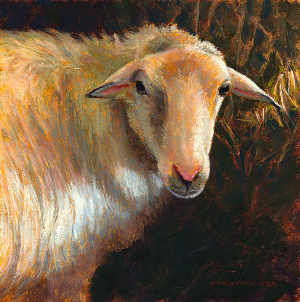 """Marjoram"" original fine art by Rita Kirkman"