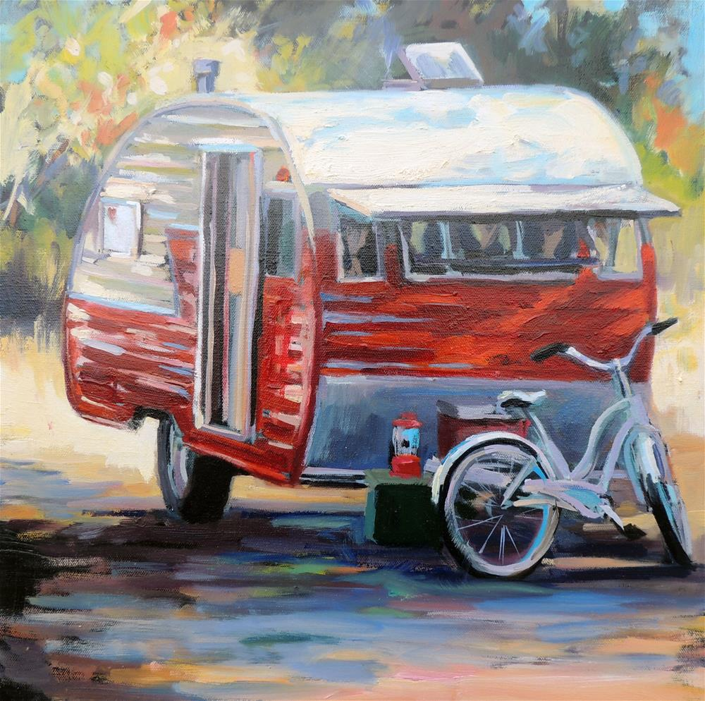 """""""Apple Pie"""" original fine art by Wendy Brayton"""