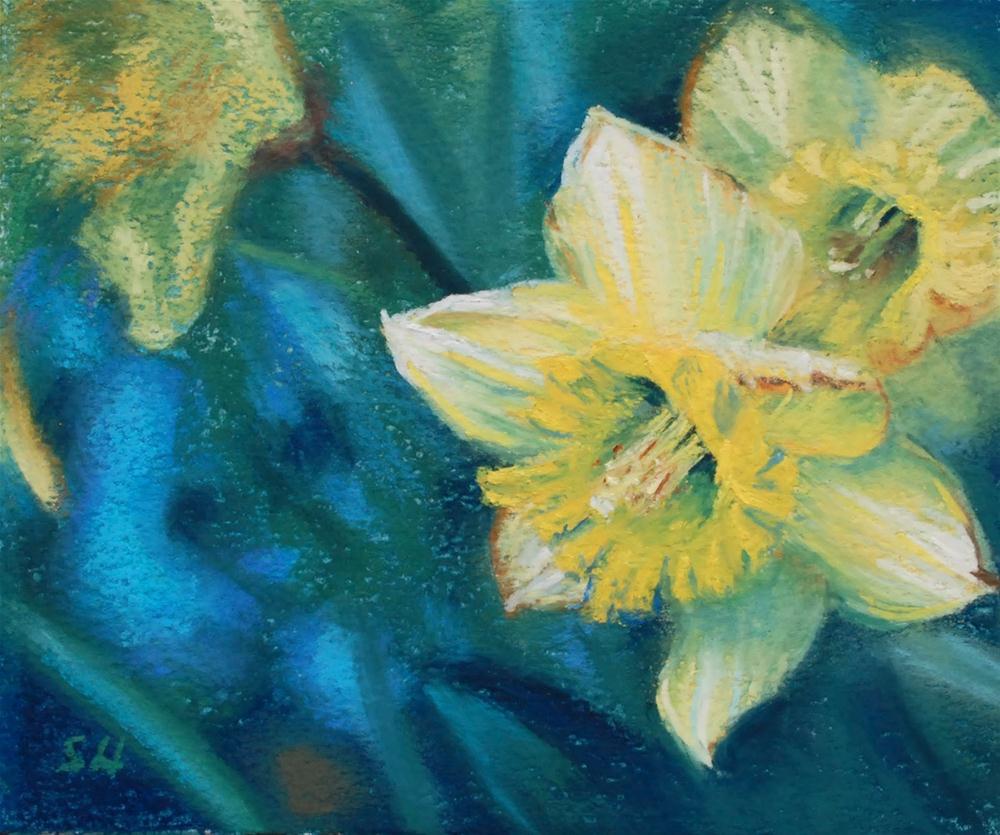 """Blooming"" original fine art by Shinhuey Ho"