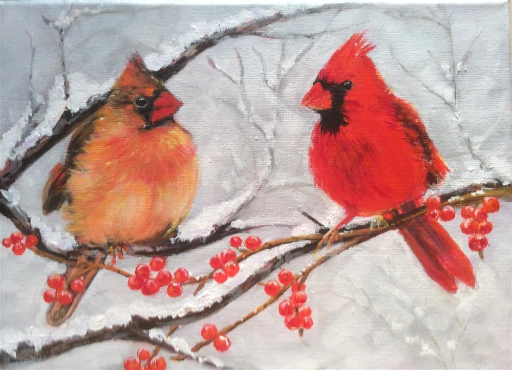 """Partnersu"" original fine art by wendy black"