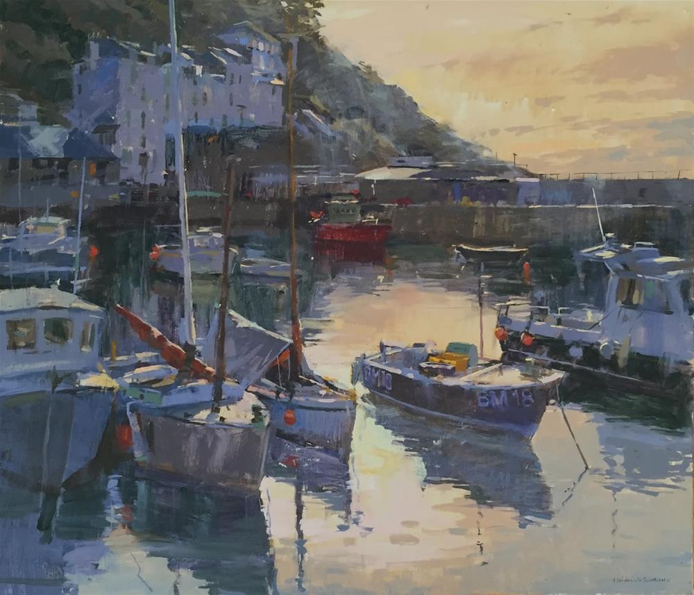 """Royal Society of Marine Artists exhibition"" original fine art by Haidee-Jo Summers ROI"