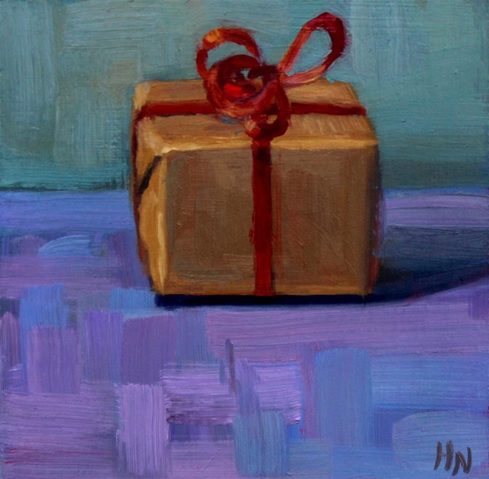 """The Present"" original fine art by Heather Nibert"