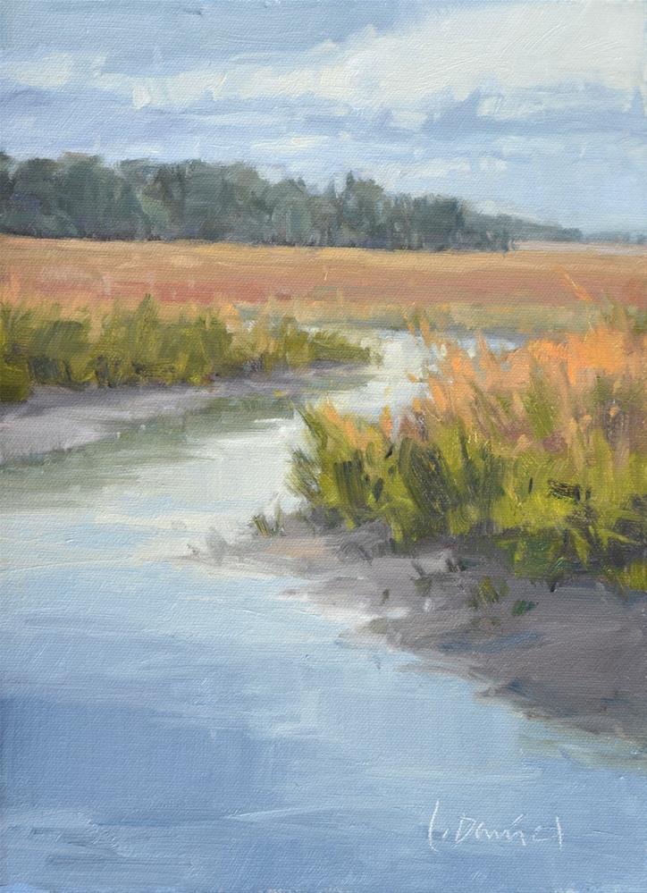 """Overcast Morning"" original fine art by Laurel Daniel"