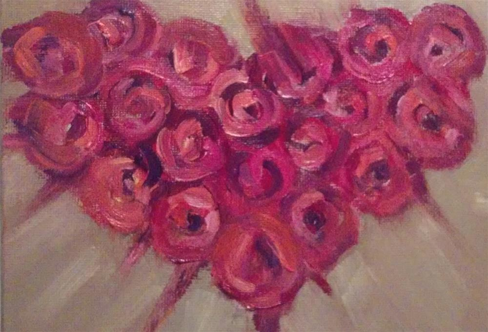 """Sweet Heart"" original fine art by Gerri Obrecht"