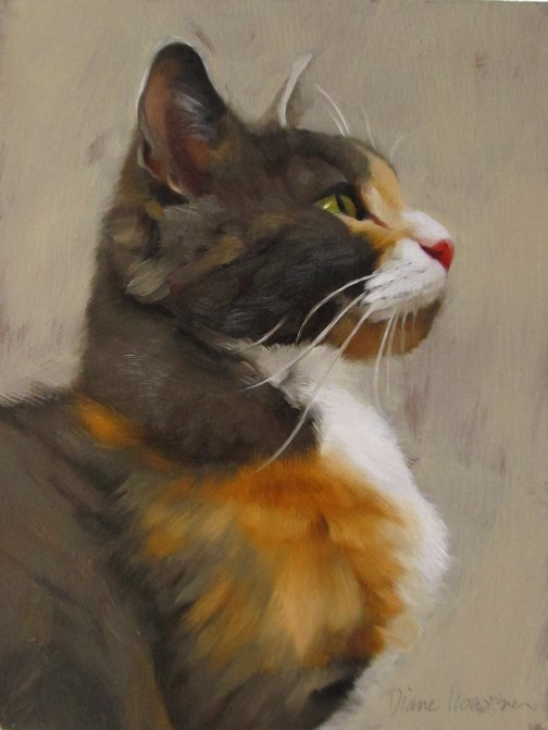 """Tom"" original fine art by Diane Hoeptner"