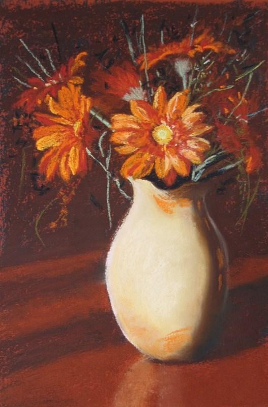 """Autumn Gold"" original fine art by Ruth Mann"