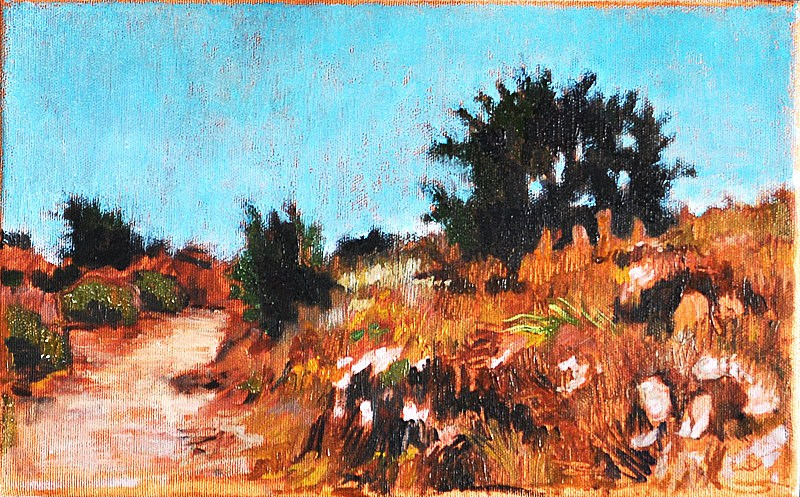 """Summer Morning in San Diego"" original fine art by Kevin Inman"
