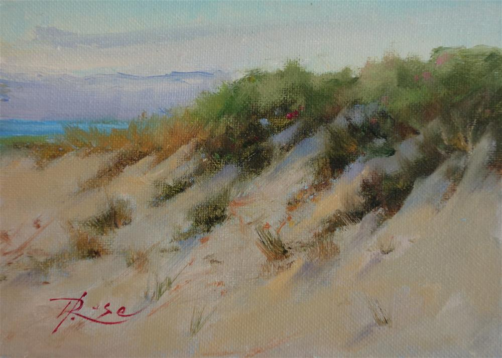 """Beach 4"" original fine art by Howard Rose"
