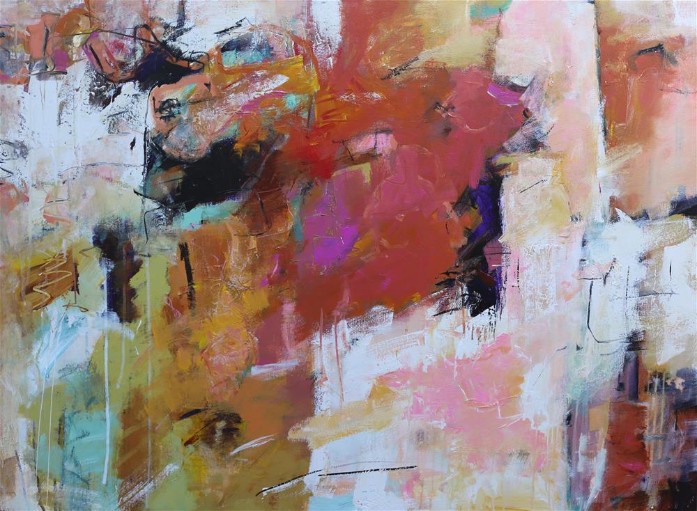 """Pinna"" original fine art by Elizabeth Chapman"