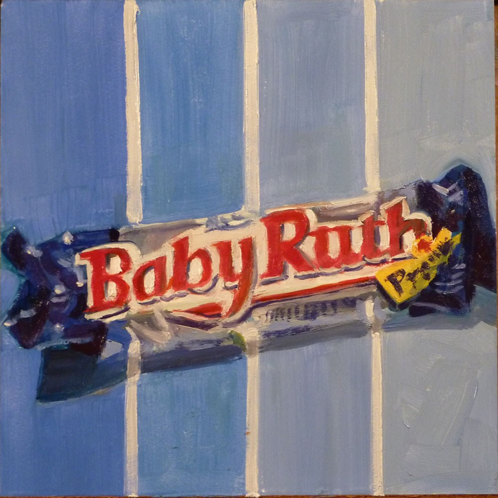 """Baby Ruth Candy Bar"" original fine art by Mary Pyche"