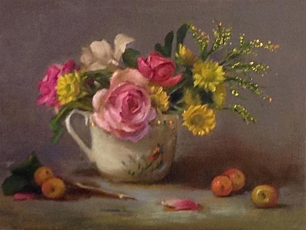 """Spring Bouquet"" original fine art by Susan Leider"