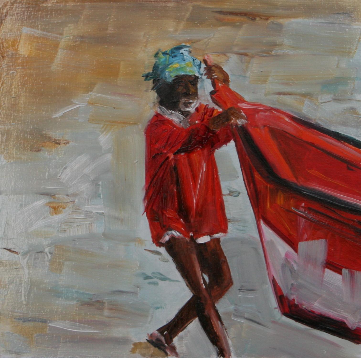 """High Tide"" original fine art by Aniko Makay"