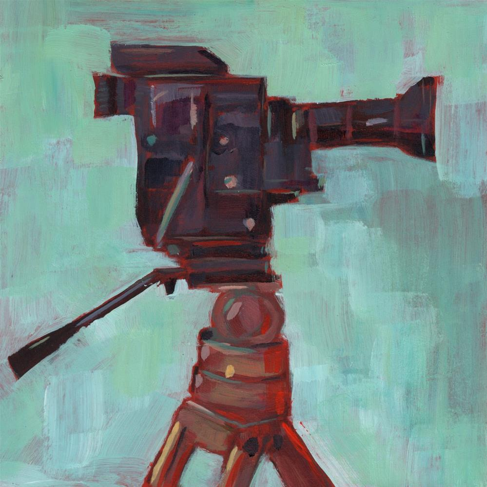 """""""Made for the Movies (#391)"""" original fine art by Brian Miller"""
