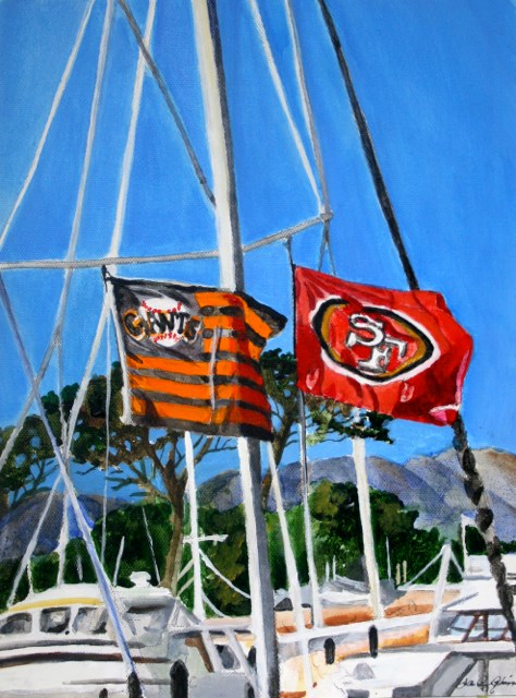 """Team Pride"" original fine art by JoAnne Perez Robinson"