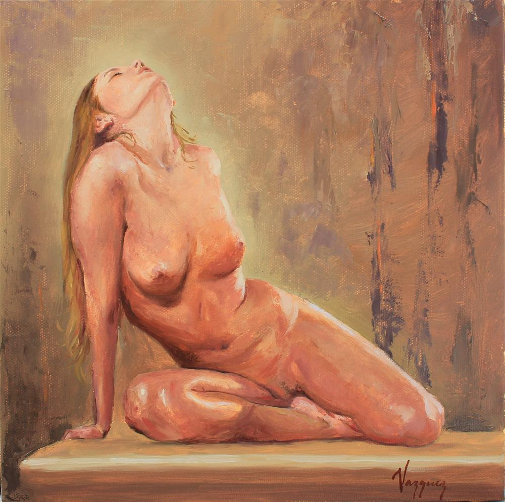 """""""Nude"""" original fine art by Marco Vazquez"""