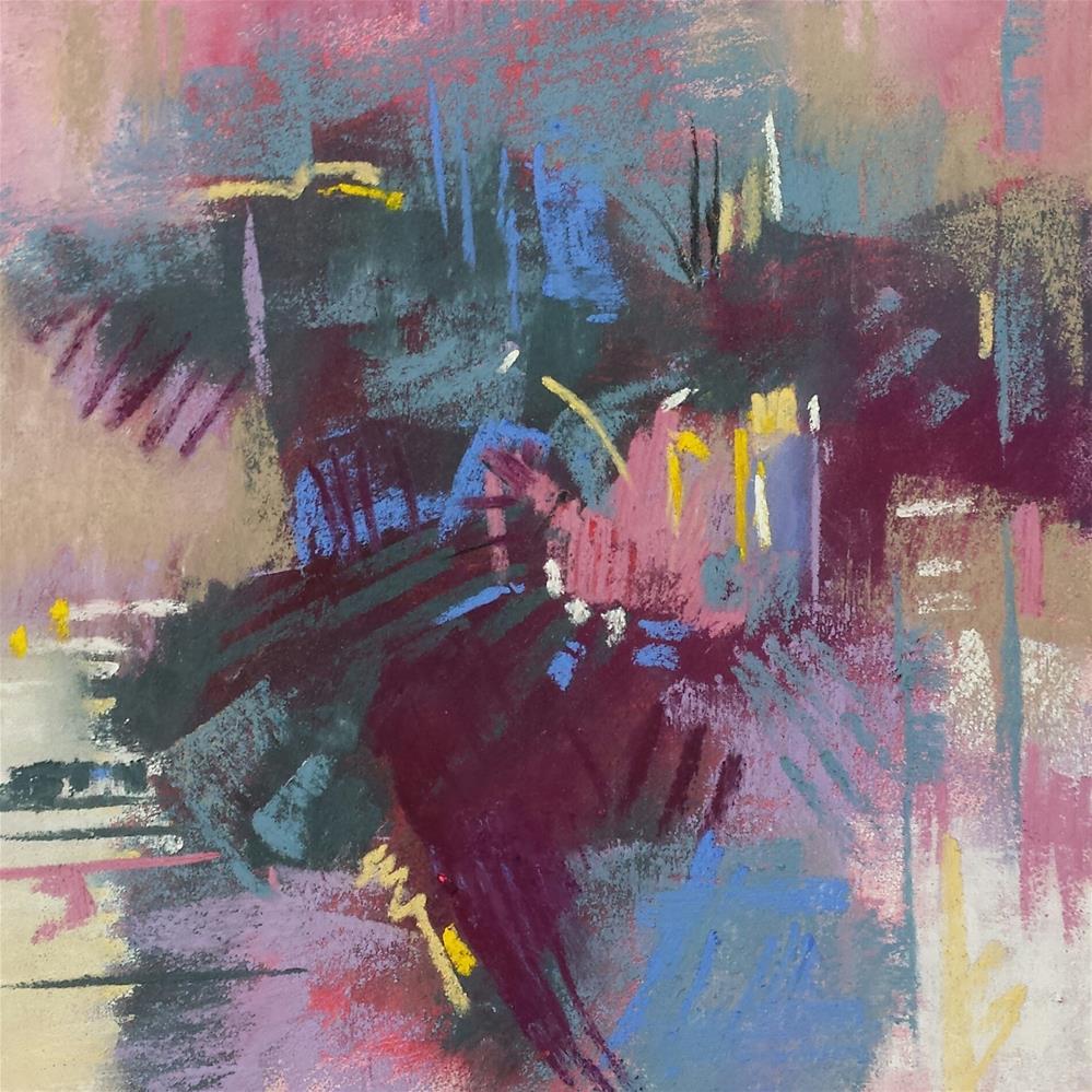 """Flight"" original fine art by Cindy Haase"