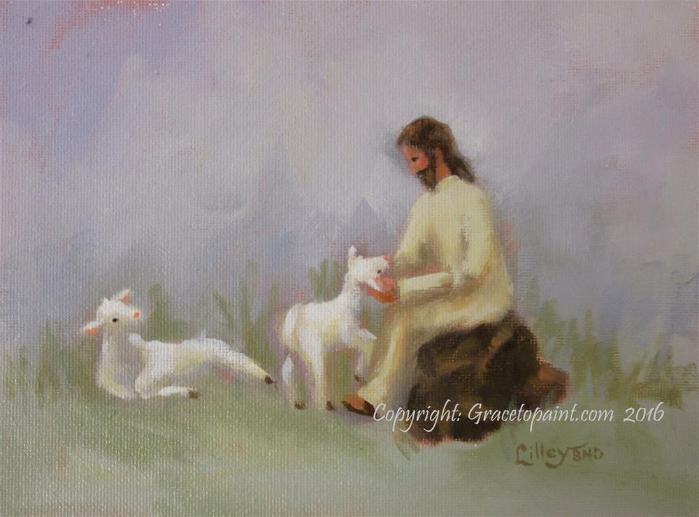 """He Revives My Spirit"" original fine art by Maresa Lilley"