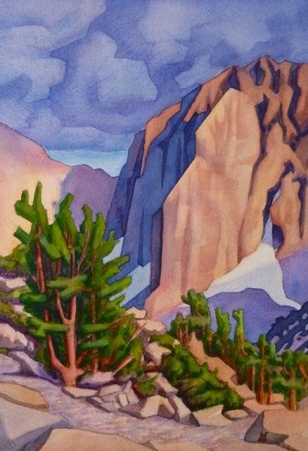 """Temple Crag"" original fine art by Mark Allison"
