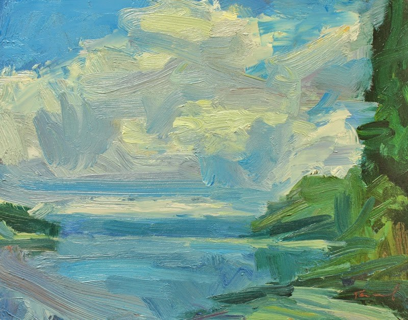"""Dana Passage"" original fine art by Kathryn Townsend"