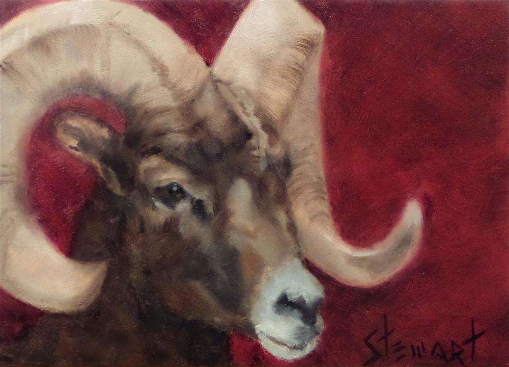 """""""THE HORN SECTION"""" original fine art by Kris Stewart"""