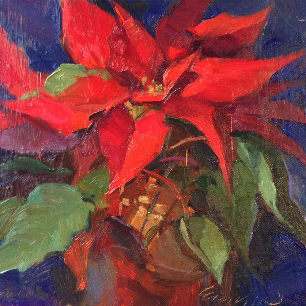 """ Into the Season"" original fine art by Emiliya Lane"