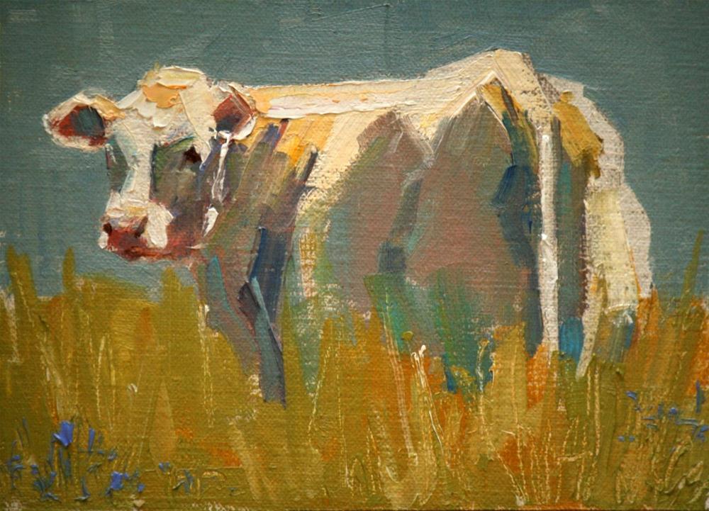"""quick glance"" original fine art by Carol Carmichael"