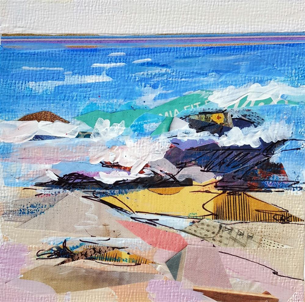 """Beach Walk"" original fine art by Cindy Carrillo"
