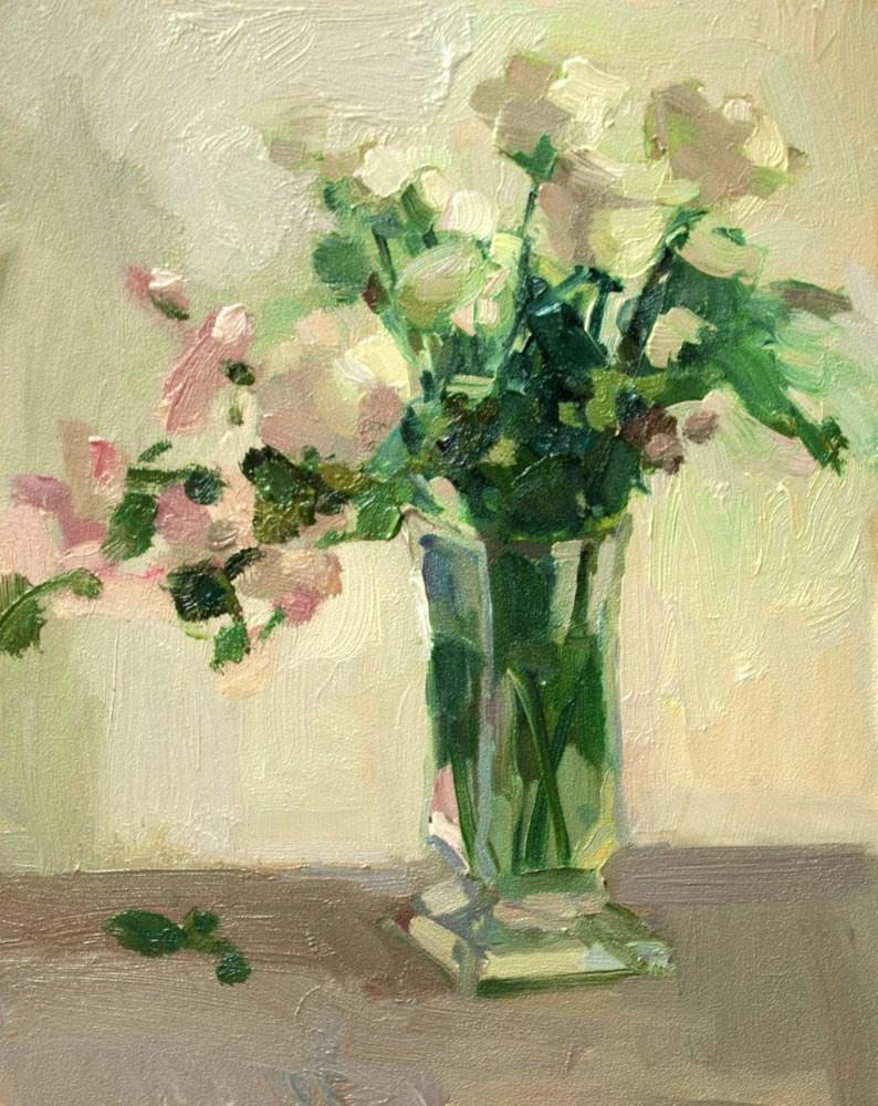 """White on White"" original fine art by Kathryn Townsend"