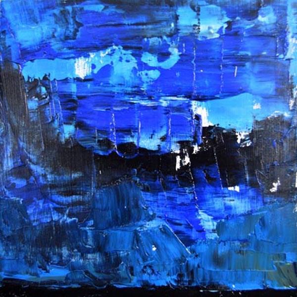 """Landscape No 54"" original fine art by Katie Jeanne Wood"