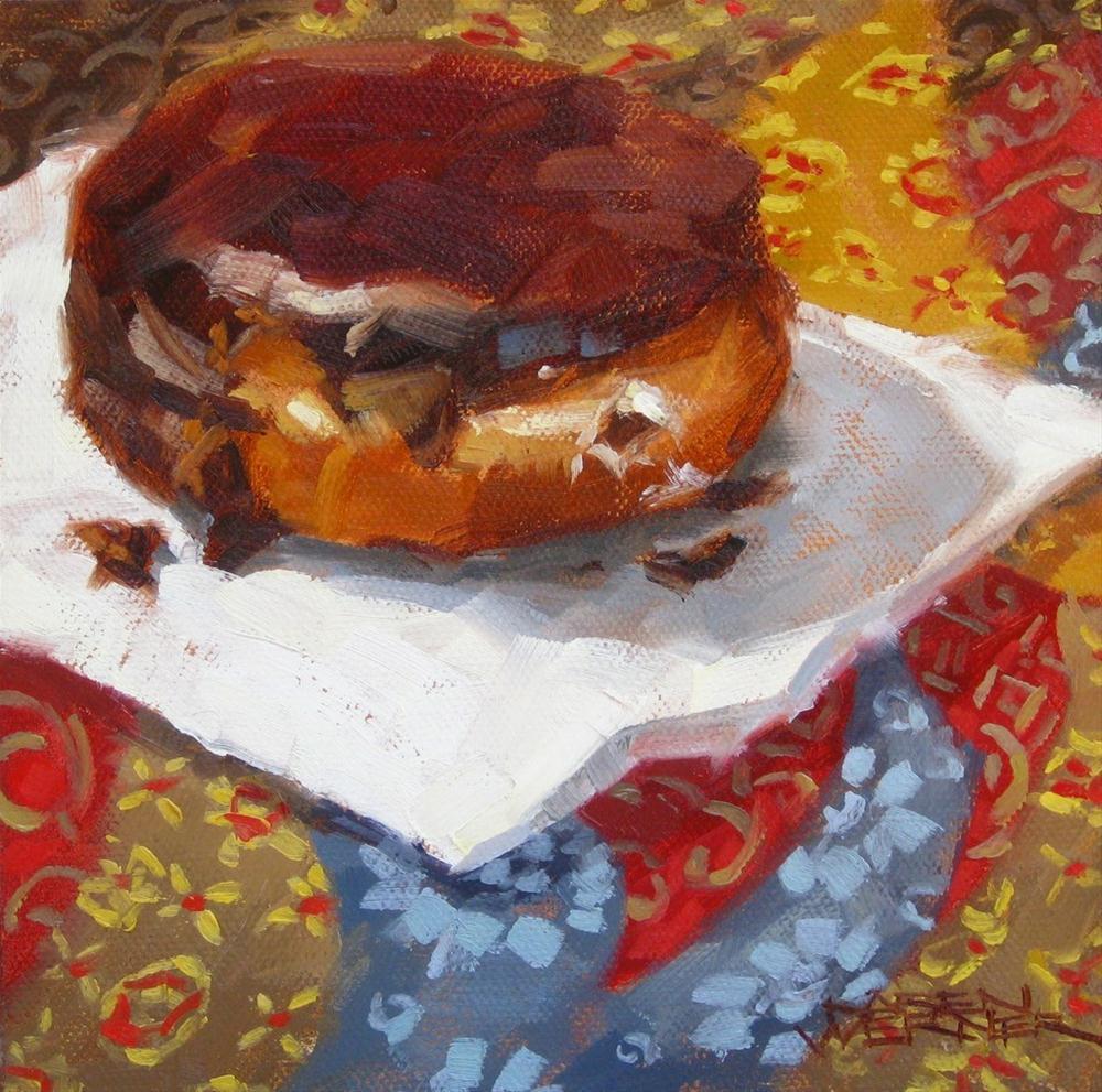 """""""The Magic Donut"""" original fine art by Karen Werner"""