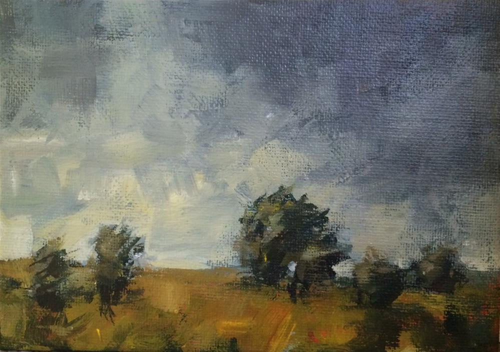 """Early Storms"" original fine art by Shannon Bauer"