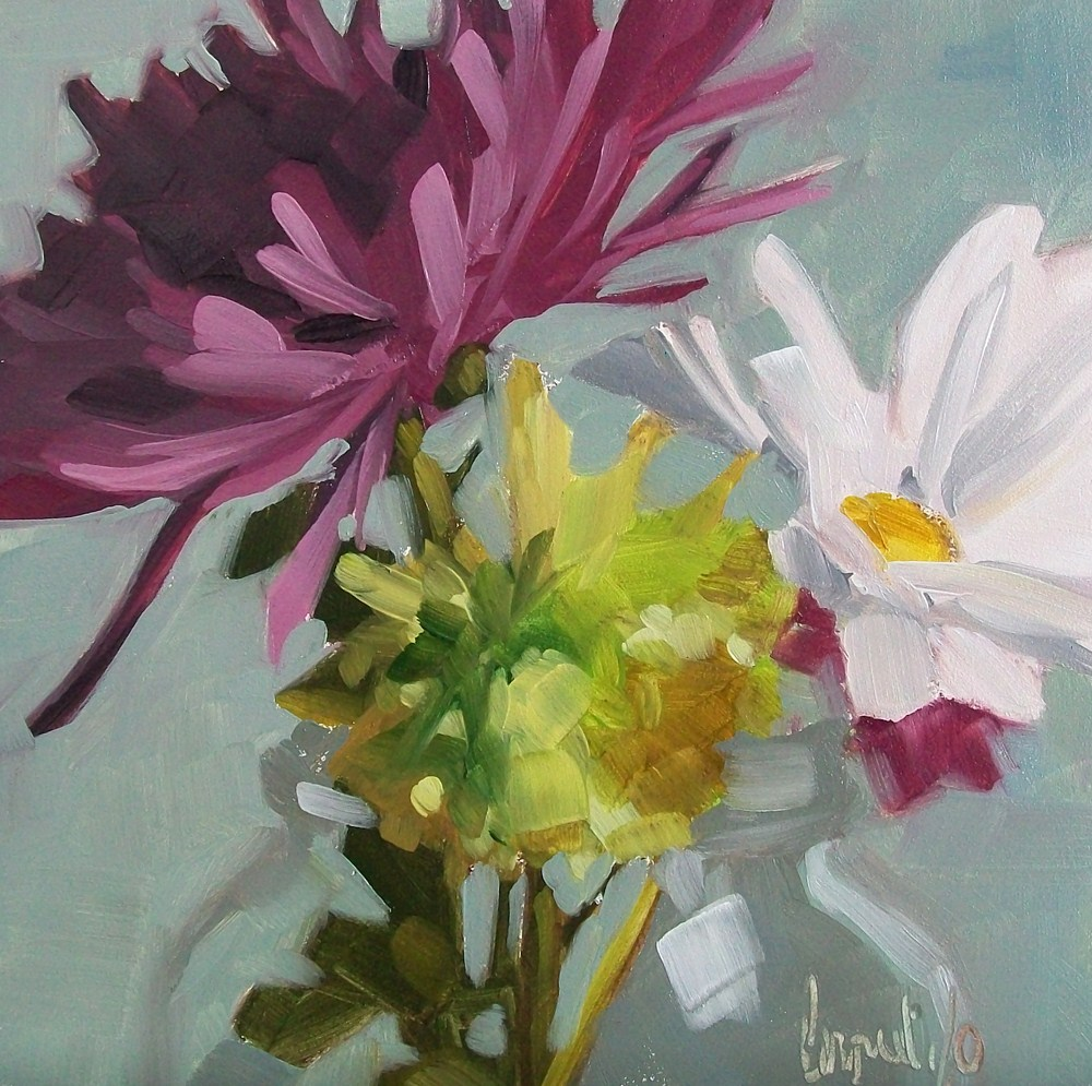 """Soft bouquet"" original fine art by Brandi Bowman"