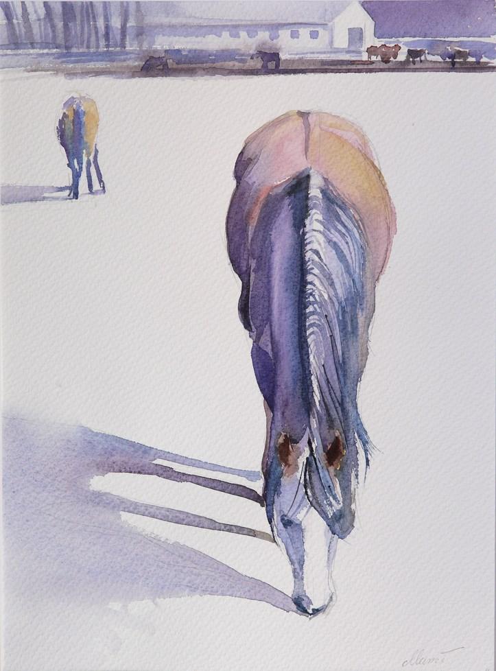 """long shadow"" original fine art by Beata Musial-Tomaszewska"