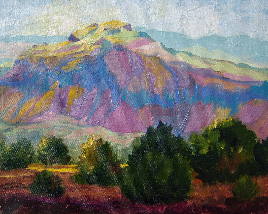 """Canyon of Color"" original fine art by Nancy Paris Pruden"