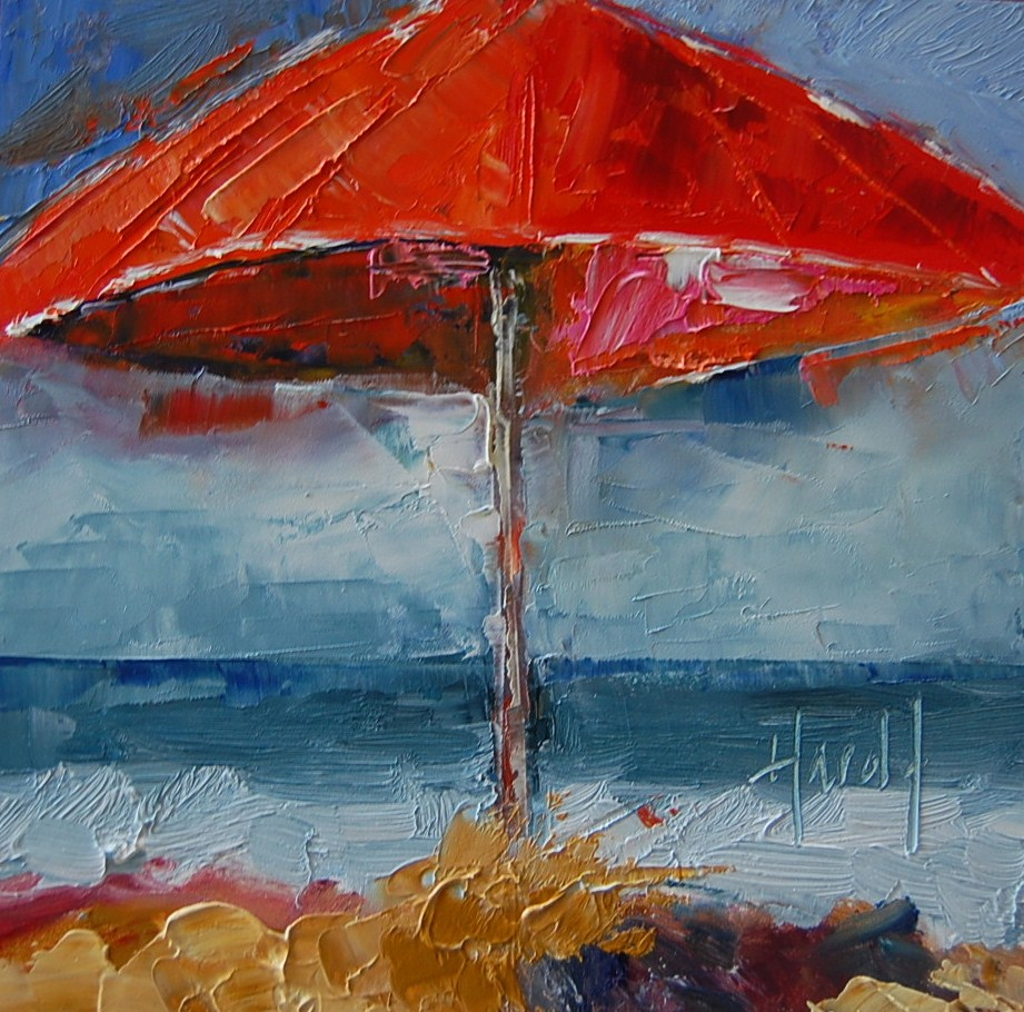 """Endless Summer"" original fine art by Deborah Harold"