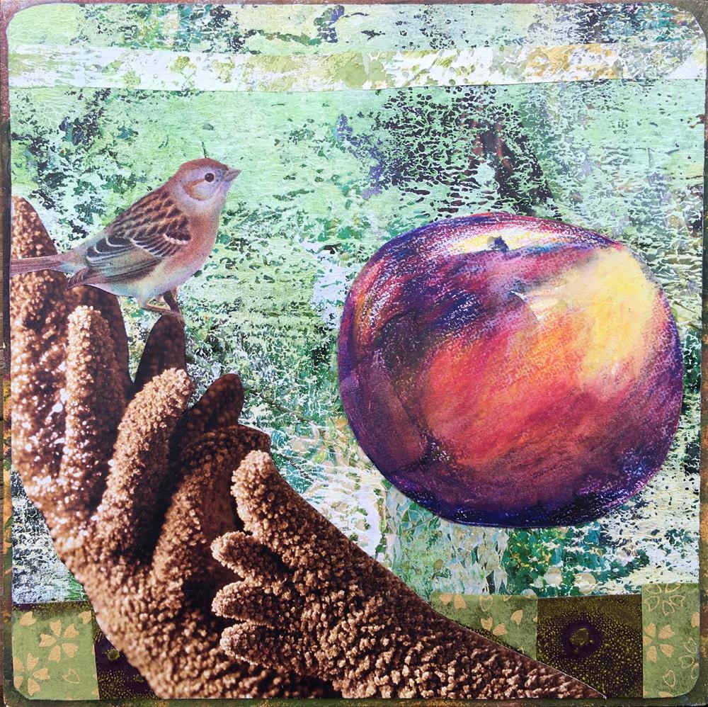 """Bird in Hand"" original fine art by Maria McNitt"