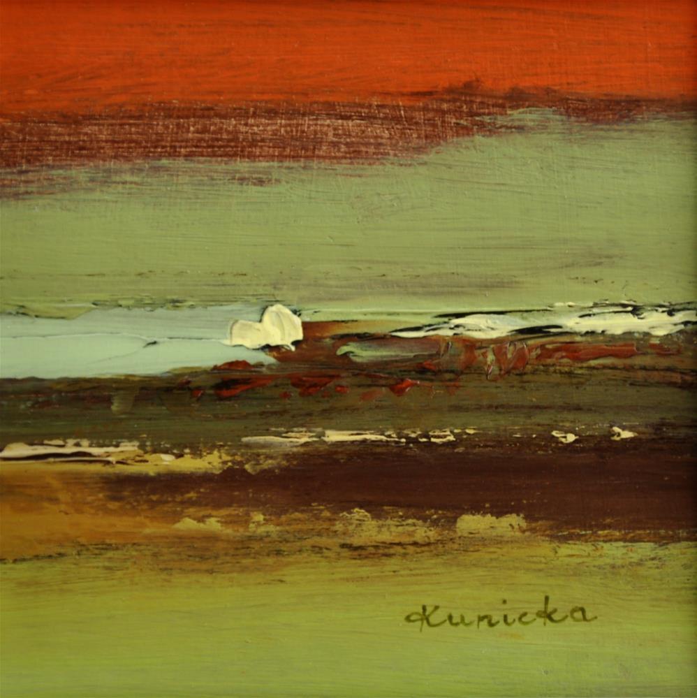 """Landscape 261"" original fine art by Ewa Kunicka"