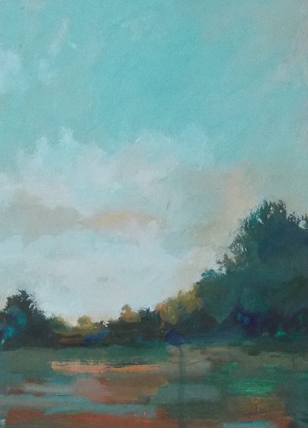"""""""All the Greenery VIII"""" original fine art by Pamela Munger"""