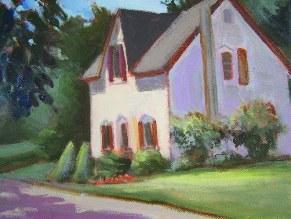 """Ontario House"" original fine art by Joan Reive"