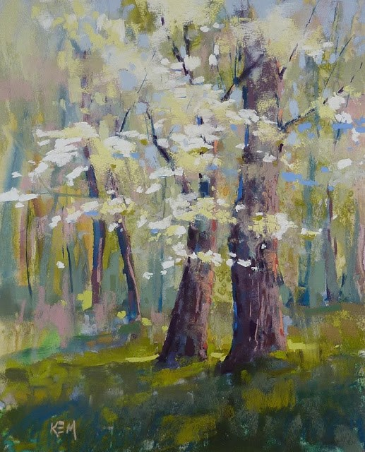 """A Playful Approach to Underpainting"" original fine art by Karen Margulis"